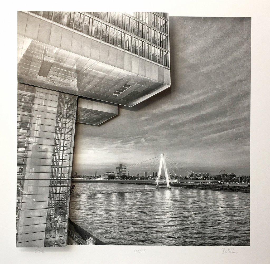 Paper Popup - Köln - Kranhaus & Severeinsbrücke